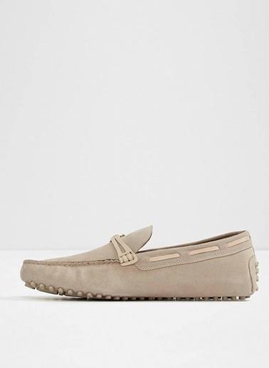 Aldo %100 Deri Loafer Ayakkabı Krem